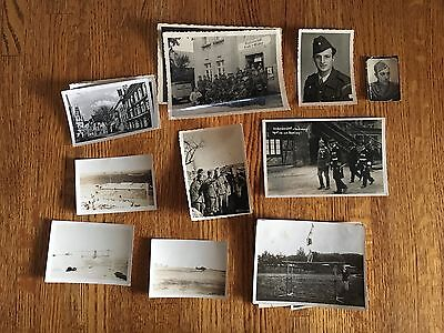 Lot of VTG WW2 WWII Photos c. 1940's - Planes, Aircraft, and Soldiers (L6-G10)