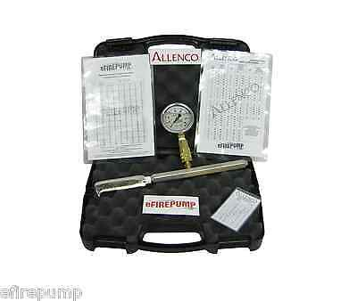 Allenco Fire Pump PITOT TUBE Kit for Flow Test Hose Monsters w/ Calibrated Gauge