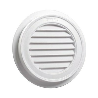 Gable Vent Fullmoon 550mm Functional Plastic Paintable Federation Decorative