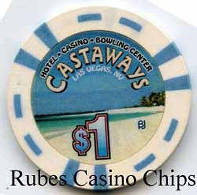 1.00 Chip from the Castways Casino in Las Vegas Nevada