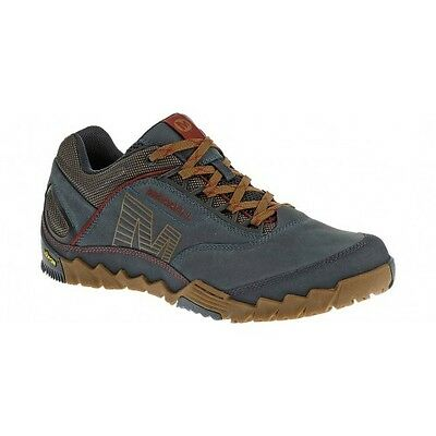 Merrell Annex Blue Walking Hiking Shoes Vibram