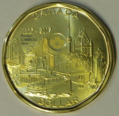 2017 Canada Connecting Nation Loonie BU