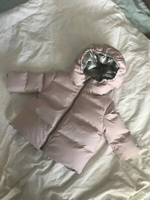 Burberry Baby Girl Ice Pink Puffer 3months RRP£170