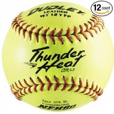 (12) - Spalding Sports Div Russell 43-147P 30cm Dudley Yellow Thunder Heat Fast-