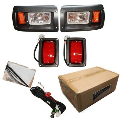 Club Car DS Golf Cart Headlight with LED Tail Light Kit 1993-Up. Best Price