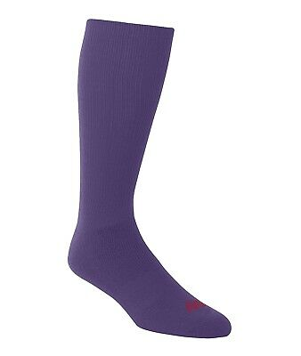 (Large, Purple) - A4 Team Tube Sock. Delivery is Free