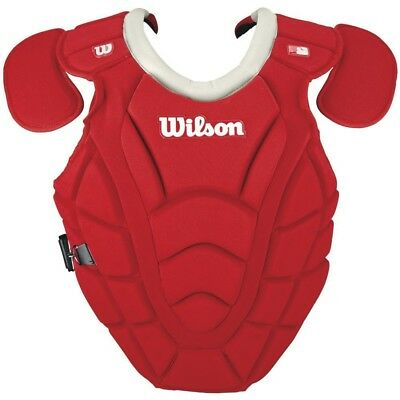 Wilson Youth Maxmotion 36cm Chest Protector Scarlet. Shipping Included