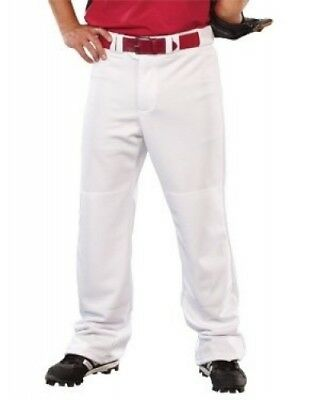 (Large, White) - Youth 500ml Streak Open Bottom Pant. Teamwork. Delivery is Free