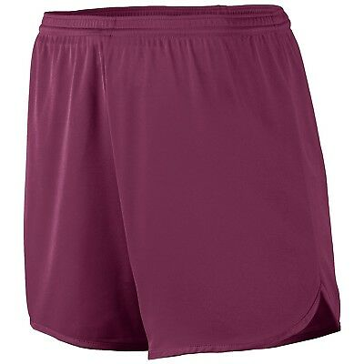 (Medium, Maroon) - Augusta Sportswear Boys' Accelerate Short. Free Shipping