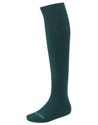 (Medium, White) - Adult Solid Multi-Sport Game Sock. Free Delivery