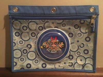 Original Powerpuff Girls - Travel / Make-Up Pouch / Bag - 2002 - Cartoon Network