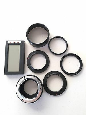 Sony NEX adapter to 49mm/55mm. 49:55, 49:49mm ring. MD-M43 Adapter. Humid Meter