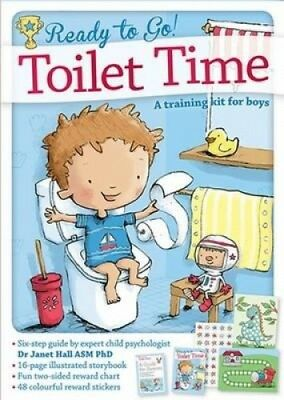 Ready to Go! Toilet Time: A training book for boys.