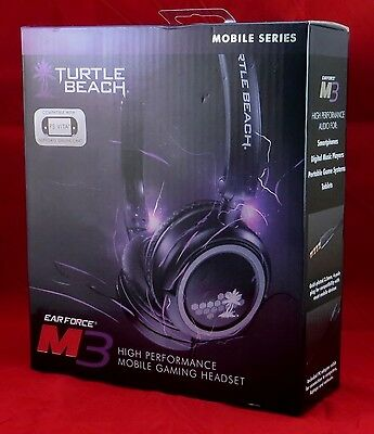 Turtle Beach EARFORCE M3 High Performance Gaming Headset  Free Shipping