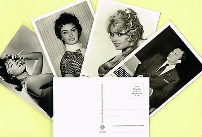 UNIVERSUM - 1950s Film Star Postcards issued in Germany #FK4022 to #FK4665