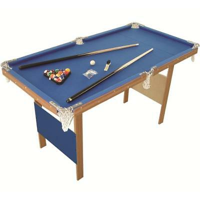 Charles Bentley 4Ft American Blue Pool Games Table Sporting Goods Snooker Tables