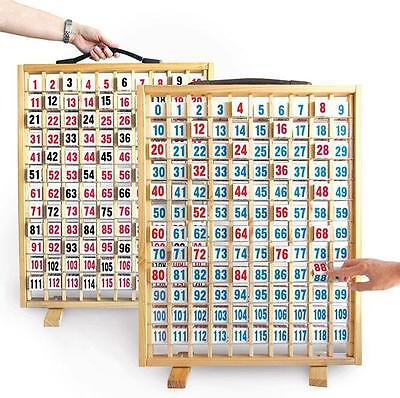 Hundreds Number Flip Array Board (0-119/1-120) Maths Teacher Resource Classroom