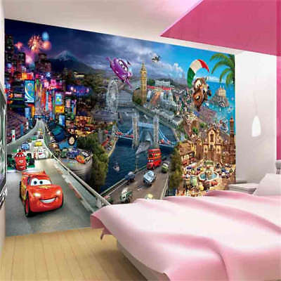 Wonderful Car 3D Full Wall Mural Photo Wallpaper Printing Home Kids Decoration