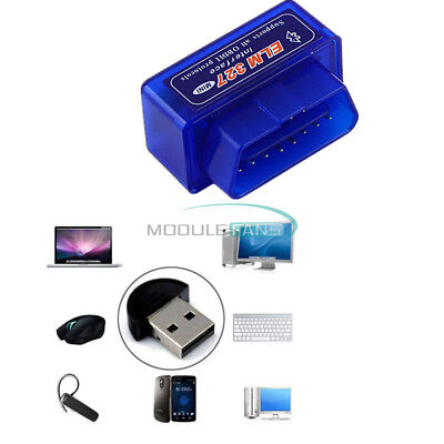 ELM327 Mini OBD2 II Bluetooth Auto Car OBD2 Diagnostic Interface Scanner Tool
