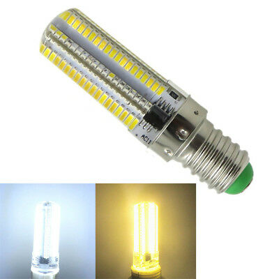 Dimmable E14 LED Bulb 7W 3014 SMD Silicone Light Chandelier Lamp AC 110V 220V