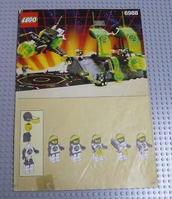 LEGO INSTRUCTIONS MANUAL BOOK ONLY 6988 Alpha Centauri Outpost x1PC
