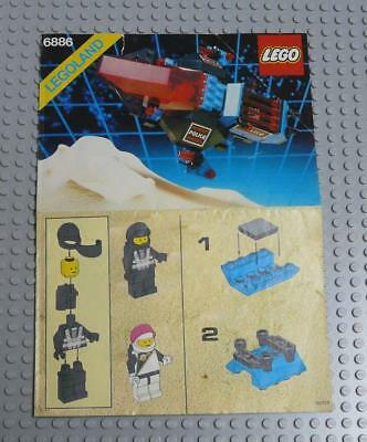 LEGO INSTRUCTIONS MANUAL BOOK ONLY 6886 Galactic Peace Keeper x1PC