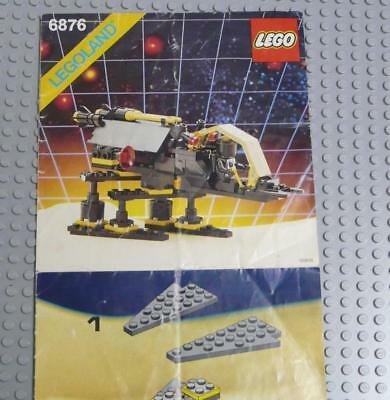 LEGO INSTRUCTIONS MANUAL BOOK ONLY 6876 Alienator x1PC