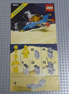 LEGO INSTRUCTIONS MANUAL BOOK ONLY 6872 Xenon X-Craft x1PC