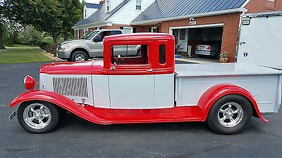 1934 Ford Other Pickups 2 door pickup 1934 Ford HOTROD pickup, all new, V8, auto trans, a/c, cruise, p/s,p/b, BAD!!!