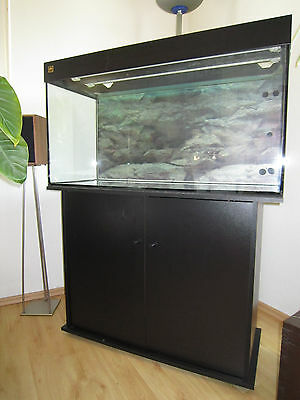 aquarium vollgals 100cm x 50 cm x 40 cm eur 5 00 picclick de. Black Bedroom Furniture Sets. Home Design Ideas