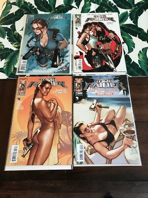 Lara Croft Tomb Radier #33-#45-#47-#50✳️adam Hughes Cover Lot✳️movie Soon✳️