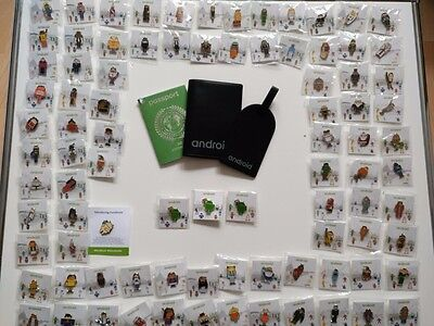 Complete Android Pins Mwc 2017 Set Collection & Merchandise Backpack Accessoires