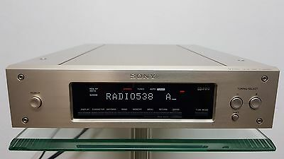 Sony ST-S3000ES Gold High-End Stereo FM/AM 'Shoebox Size' Tuner *RARE*