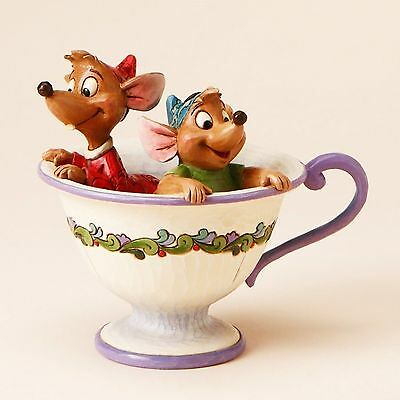 Disney Traditions - Cinderella - Jaq & Gus in Teacup Jim Shore Figurine 4016557