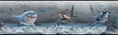 Disney The Sharks from Finding Nemo on Sure Strip Wallpaper Border DS7692BD