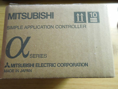 Mitsubishi Alpha 2 Logic Control 15 In, 9 Out, 24 V dc power AL2-24MR-D Relay