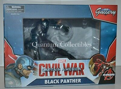 *IN STOCK 8/30* Marvel Gallery Black Panther (Civil War Movie) Statue Avengers