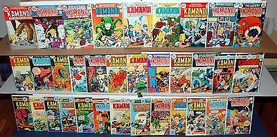 KAMANDI #7-59 DC Bronze Age Jungle Comic 46pc Run Lot NICE CONDITION