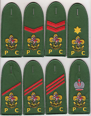 Holy Russia Rover Scout epaulettes patch / badge lot