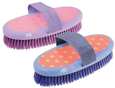 HySHINE Star Easy Grip Range Horse Pony Grooming Brushes/Combs