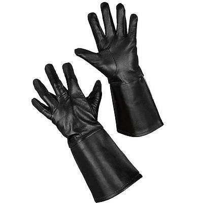 Leather Medieval Gauntlets. Perfect for Re-enactment, Stage, Costume & LARP