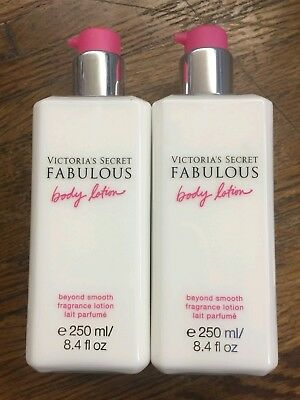 Lot of 2 Victoria Secret Fabulous Body lotion 8.4oz *brand new*