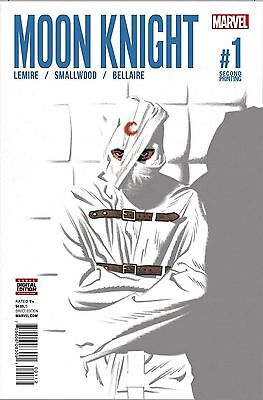 Marvel Moon Knight #1 Comic 2Nd Ptg Print Variant Cover