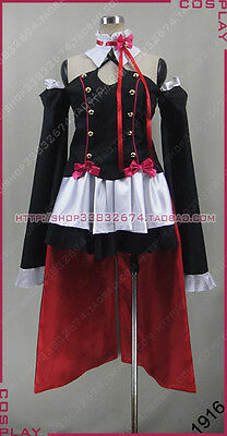 Seraph of the End Krul Tepes Cosplay Dress Set Costume Any Size S002