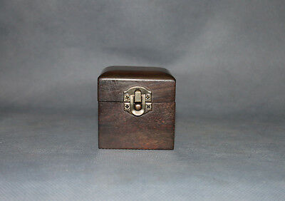 wooden box China rosewood red wood carved Chinese small jewelry box