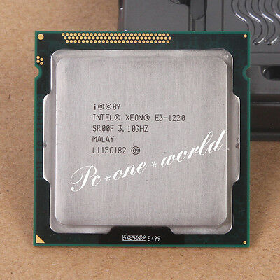100% OK SR00F Intel Xeon E3-1220 3.1 GHz Quad-Core Processor CPU LGA 1155