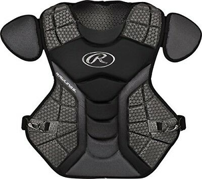 (Black/Graphite) - Rawlings Sporting Goods Catchers Chest Protector Velo Series
