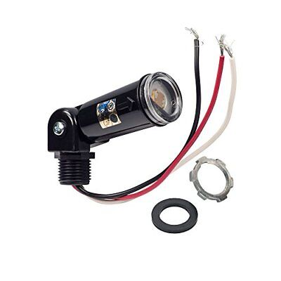 120V Dusk To Dawn Outdoor Swivel Photo Control, Photocell for Wall Packs, Shoe