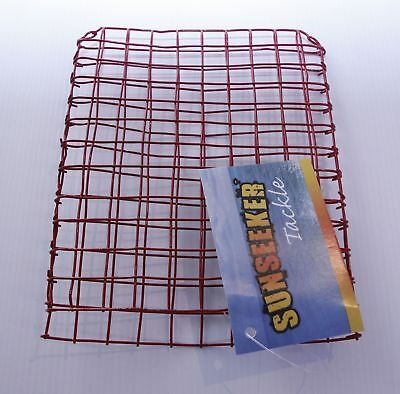 Red Wire Bait Basket Cage Bait Traps