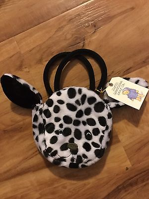 Girls Dalmatian Puppy Dog Purse North American Bear Co. Perfect Cond